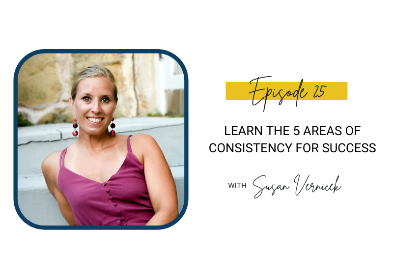25: Learn The 5 Areas of Consistency for Success